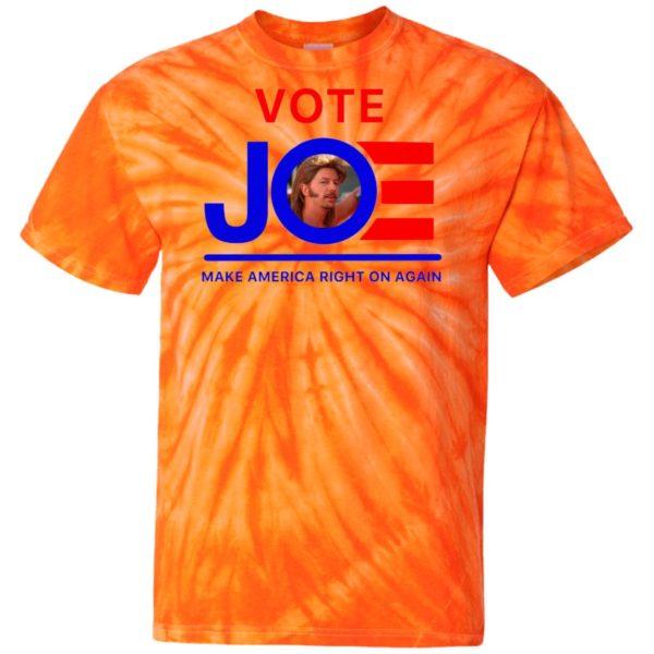 Joe Dirt Vote Joe 4th of July Tie Dye shirt