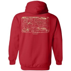 Tubbo Moment Red Hoodie, LS, Shirt