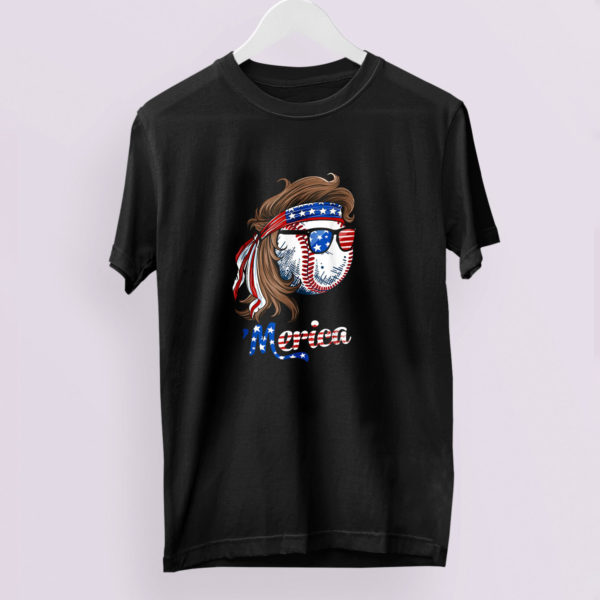 Beer American Flag 4th of July Merica USA Drinking Shirt