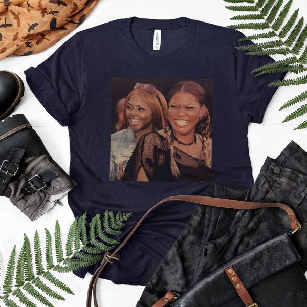 Lil Kim And Queen Latifah T-Shirt, LS, Hoodie