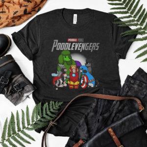 Poodle Poodlevengers Marvel Studios Avengers Shirt