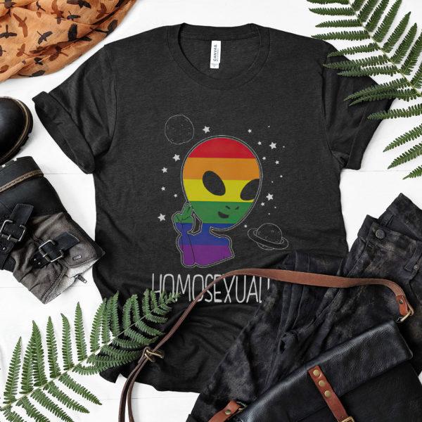 Pride Lgbt Alien Homosexualien Shirt