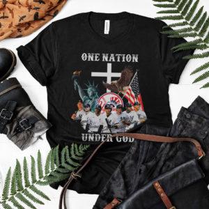 One Nation Under God New York Yankees 2021 Shirt, Aaron Judge
