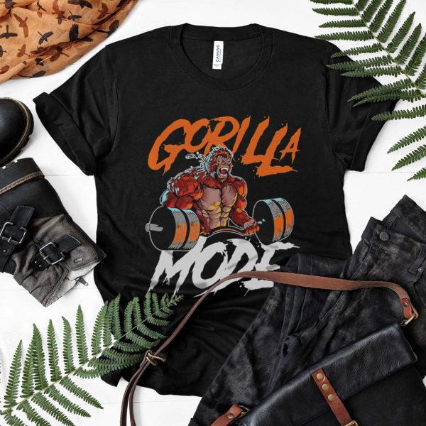 Gorilla Mode Weight Lifting Shirt