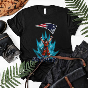 Son Goku Powering Up In Energy New England Patriots Shirt