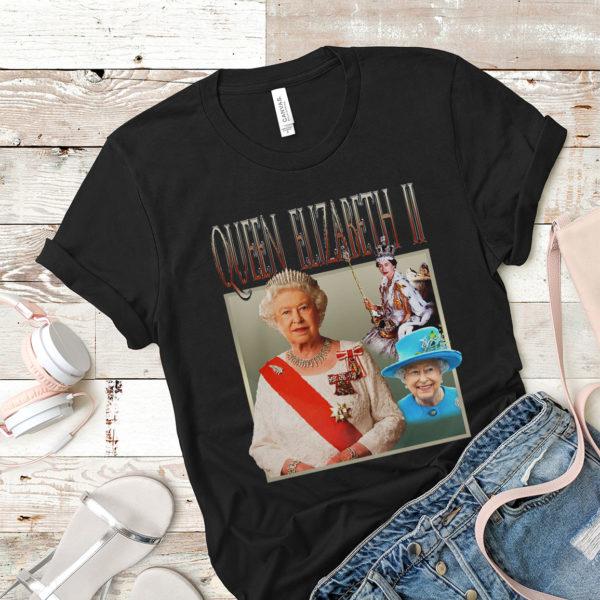 QUEEN ELIZABETH II T-shirt