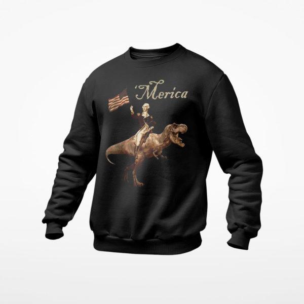 George Washington Hurricanrana Shirt, Ls, Hoodie