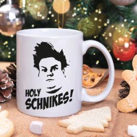 Holy Schnikes Tommy Boy Mug