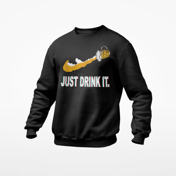 Beer Just Drink It Nike T-Shirt