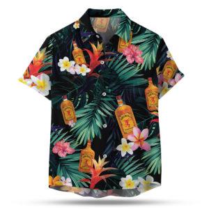 Fireball Cinnamon Hawaiian Shirt, Beach Shorts