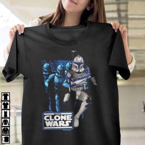 Star Wars The Clone Wars Clone Captain Rex Mashup Shirt, ls, hoodie