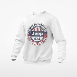 The American Legend Established Since 1941 Jeep Shirt, ls, hoodie