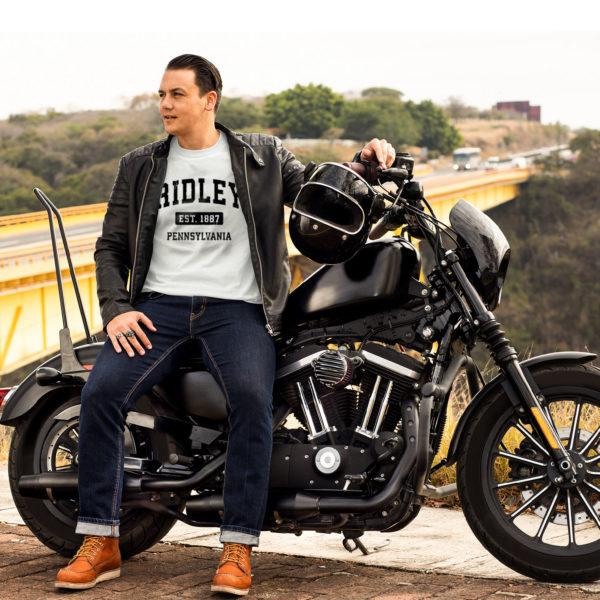 Ridley pennsylvania pa vintage sports design black design shirt, ls, hoodie