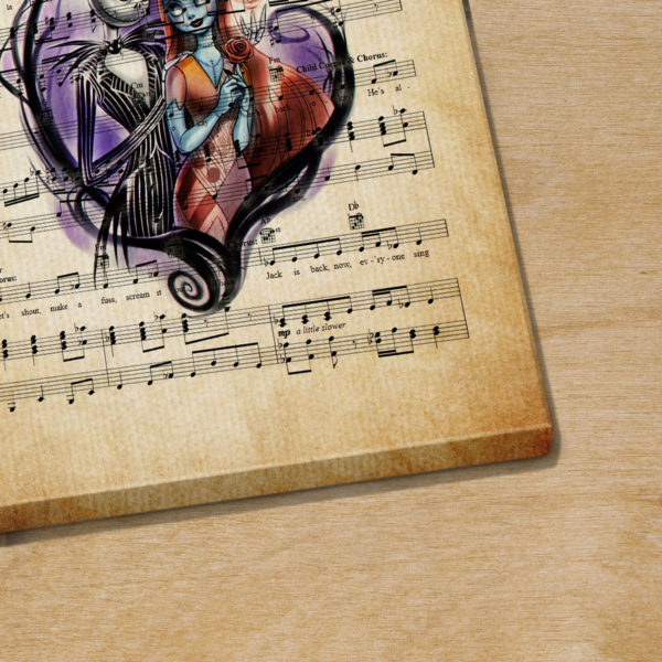 Jack Skellington And Sally Wedding Finale and Reprise Sheet Music
