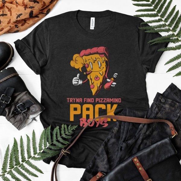 Tyna Find Pizzamind Pack Boys Shirt, ls, hoodie