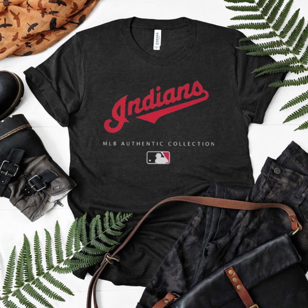 Mlb Authentic Collections Cleveland Indians T-shirt, LS, Hoodie