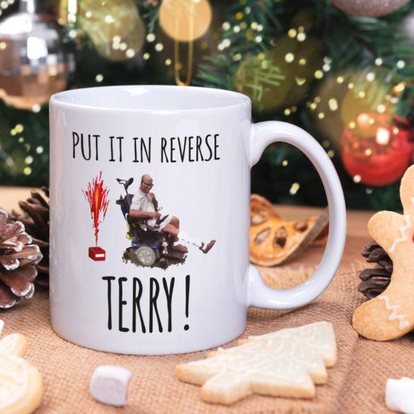Back Up Terry 4th of July Mug Put It In Reverse Mug