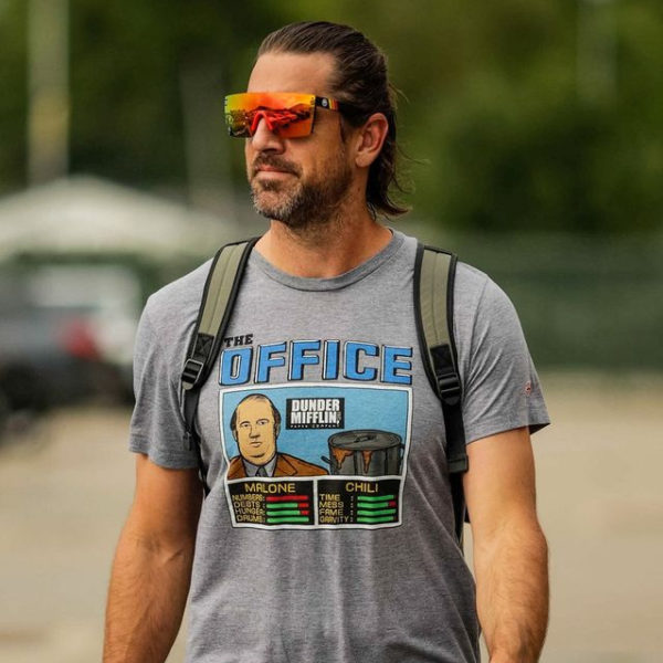 Aaron Rodgers Rose The Office T-Shirt