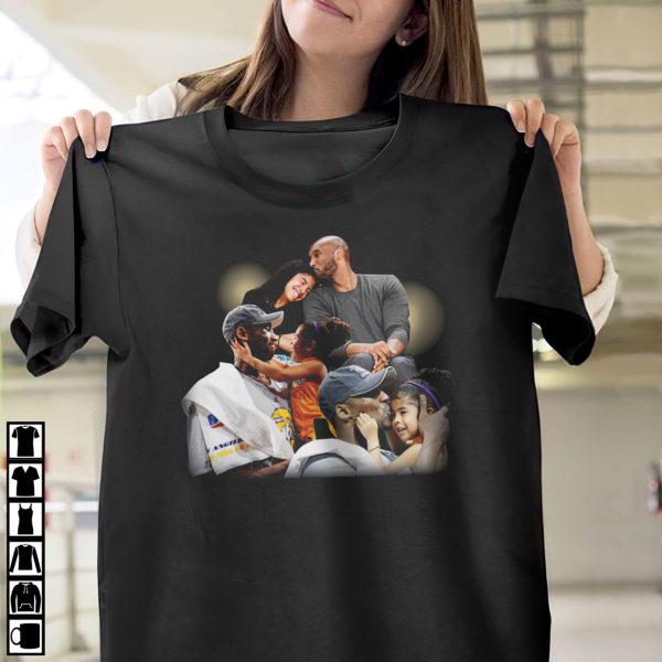 Lebron James Kobe daughter shirt, ls, hoodie