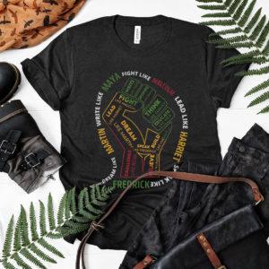 Black History Month Malcolm Harriet Martin Maya – Frederick Shirt, ls, hoodie