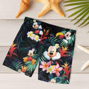 Mickey Mouse Hawaiian Shirt, Beach Shorts