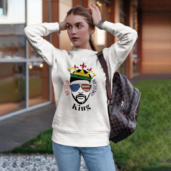 King African American Shirt, ls, hoodie