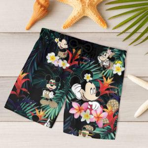Mickey Mouse GC Hawaiian Shirt, Beach Shorts