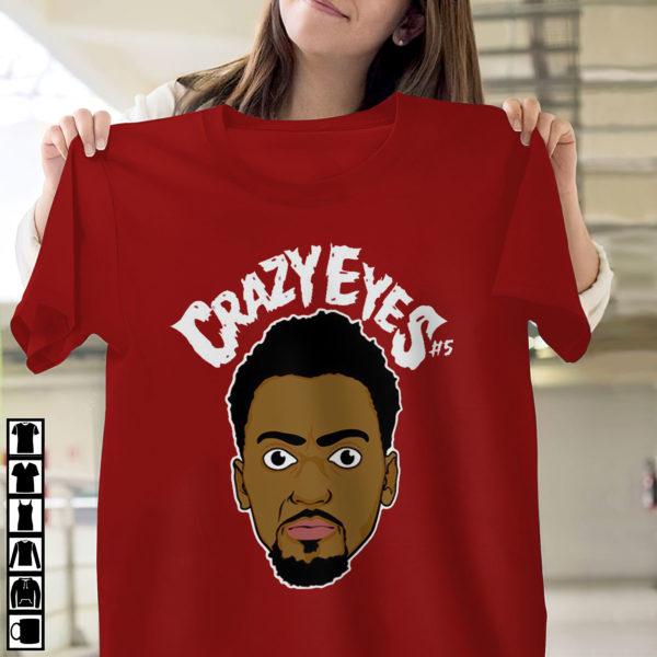 Bobby Portis Crazy Eyes Chicago Bulls shirt, ls, hoodie