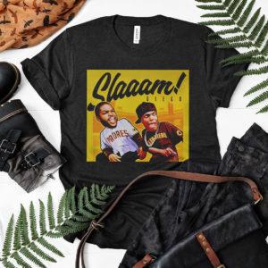 Slaaam diego funy meme shirt, ls, hoodie