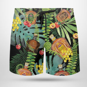 Crown Royal Canadian Hawaiian Shirt, Beach Shorts