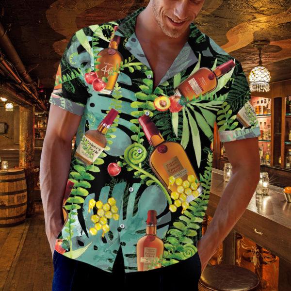 Makers Mark Bourbon Hawaiian Shirt, Beach Shorts