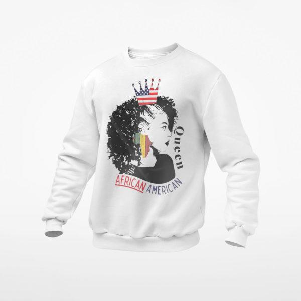 Queen African American Shirt, ls, hoodie