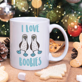 I Love Boobies Booby Mug