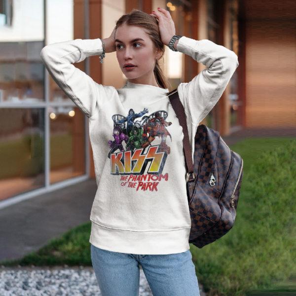 Kiss Meets The Phantom Of The Park Shirt, ls, hoodie