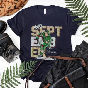 Minnesota hockey joel eriksson mr. september signature shirt, ls, hoodie