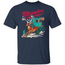 Warren Lotas Milwaukee bucks buckrider shirt, ls, hoodie