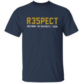 Respect 269 wins 60 shutouts 1 goal Fang Fingers SO Nashville Shirt, hoodie