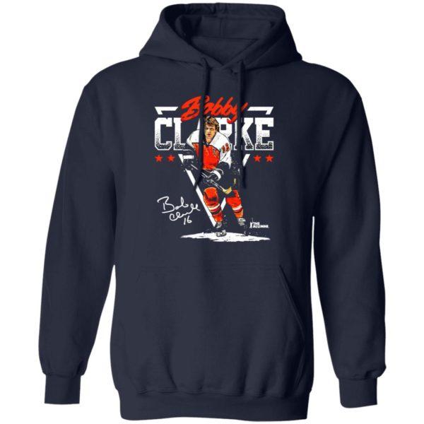 Philadelphia Nhla Bobby Clarke Triangle Name Shirt, hoodie