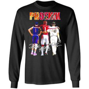 Phoenix Devin Booker Kyler Murray Signatures Shirt, hoodie