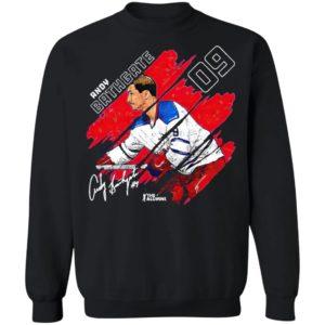 New York Nhla 9 Andy Bathgate Stripes Shirt, hoodie