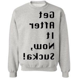 Gym mirror gains shirt, hoodie