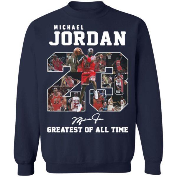 Michael jordan 23 greatest of all time signatures shirt, hoodie