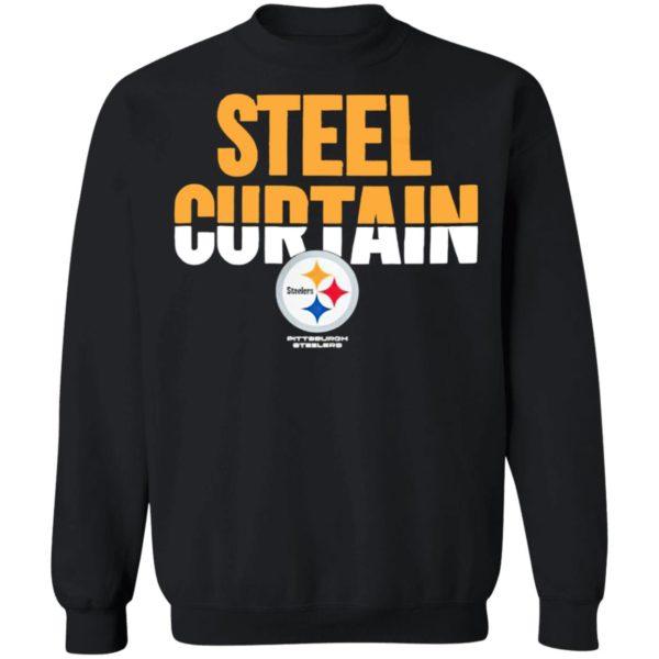 Pittsburgh Steelers Steel Curtain Shirt, hoodie