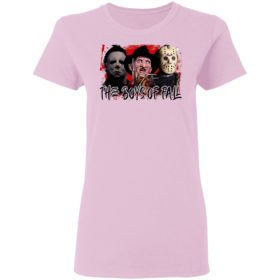 Halloween horror movies the boys of fall bleached shirt, hoodie