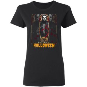 Michael Myers Welcome To Halloween The Boys of Fall Shirt