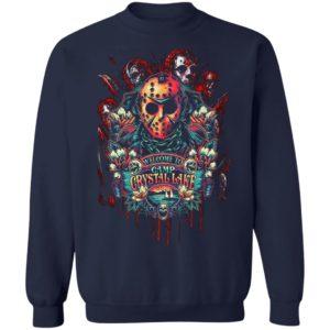Welcome to Camp Crystal Lake Jaosn Vorhees Shirt, hoodie