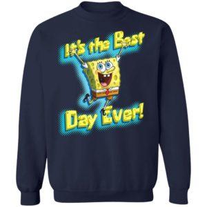 Spongebob Squarepants It's The Best Day Ever shirt, ladies tee