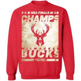 Milwaukee Bucks 2021 NBA Finals Champions Roster Drive T-Shirt