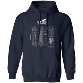 Blue origin new shepard rocket shirt