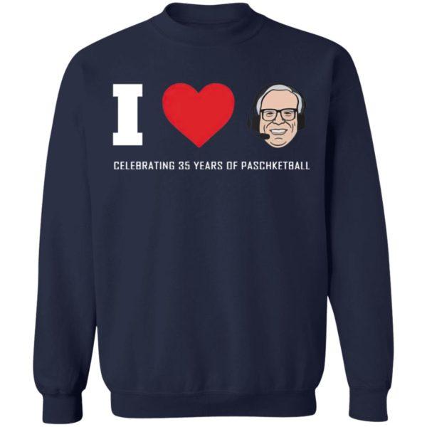 Giannis I love Jim Paschke paschketball shirt